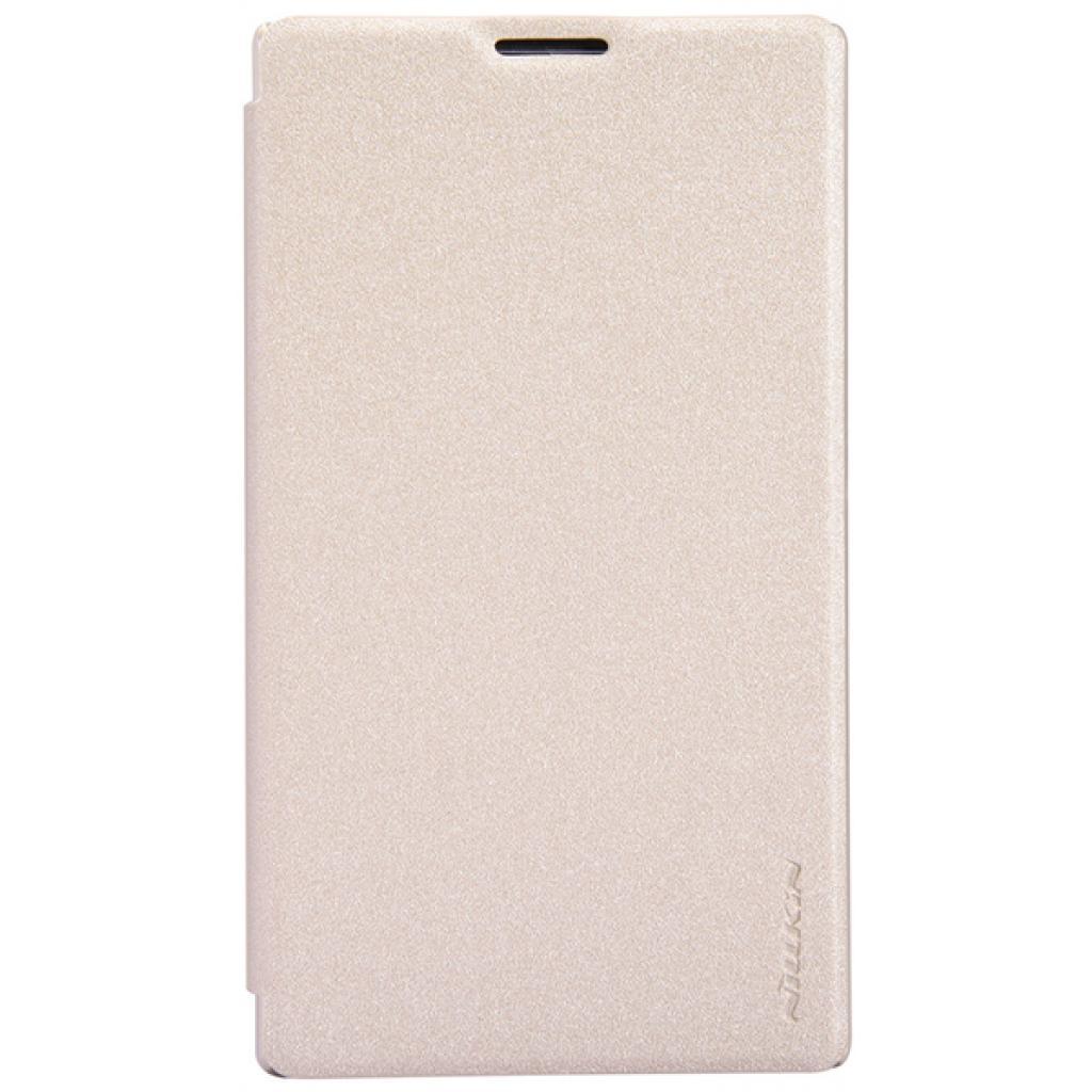 Чехол для моб. телефона NILLKIN для Nokia XL /Spark/ Leather/Golden (6164352)