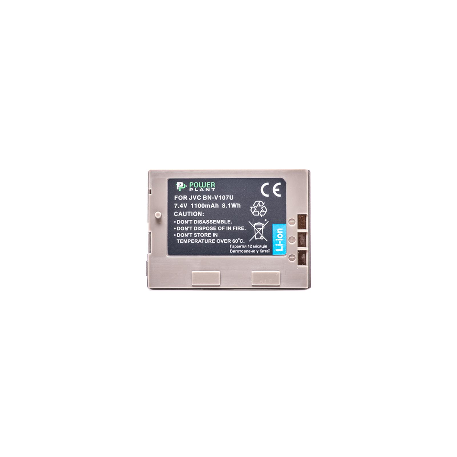 Аккумулятор к фото/видео PowerPlant JVC BN-V107U (DV00DV1185) изображение 2
