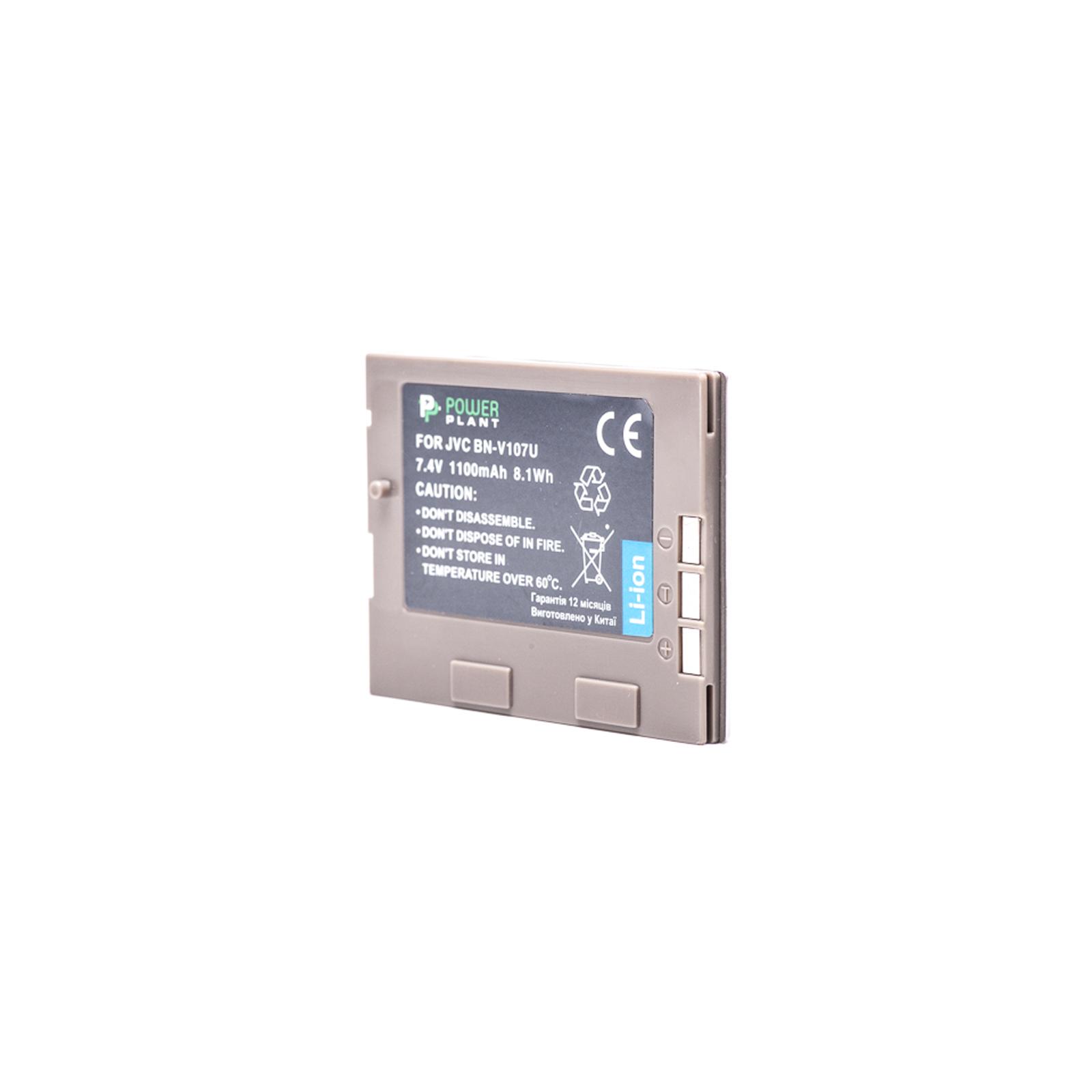 Аккумулятор к фото/видео PowerPlant JVC BN-V107U (DV00DV1185)