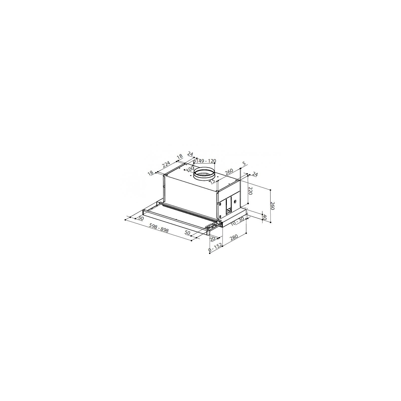 Вытяжка кухонная Faber MAXIMA EG8 AM/X A90 FB EXP изображение 2