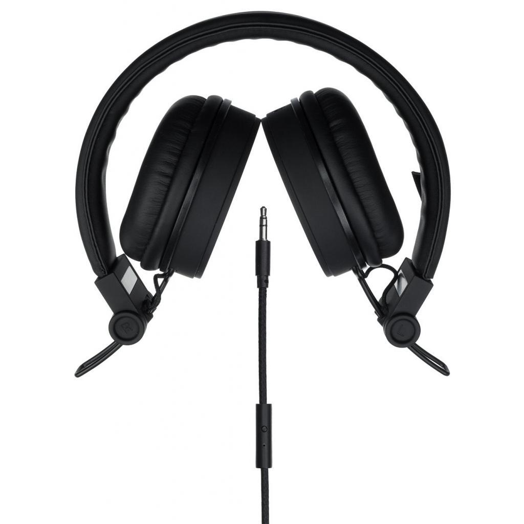 Наушники KitSound KS Malibu on-ear headphones with In-Line Mic Black (KSMALIBK) изображение 3