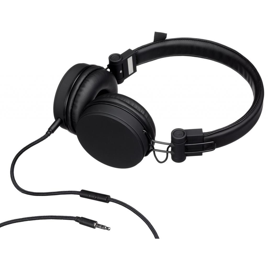 Наушники KitSound KS Malibu on-ear headphones with In-Line Mic Black (KSMALIBK) изображение 4