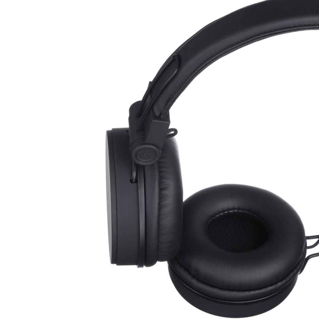 Наушники KitSound KS Malibu on-ear headphones with In-Line Mic Black (KSMALIBK) изображение 5