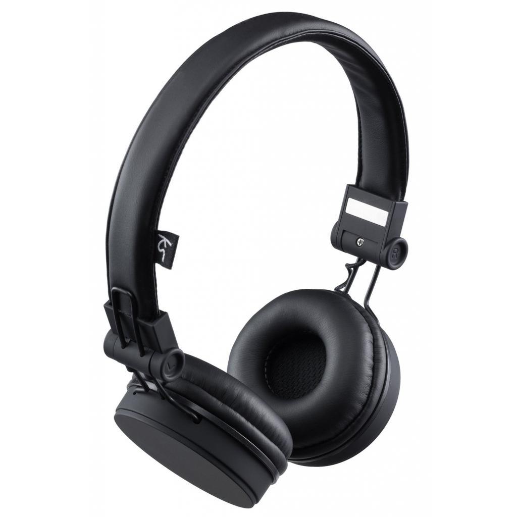 Наушники KitSound KS Malibu on-ear headphones with In-Line Mic Black (KSMALIBK)