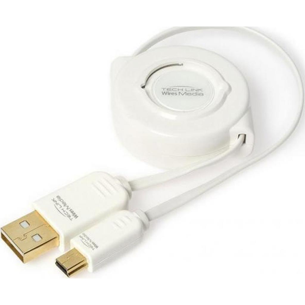 Дата кабель USB 2.0 AM to Mini USB Techlink (726260)