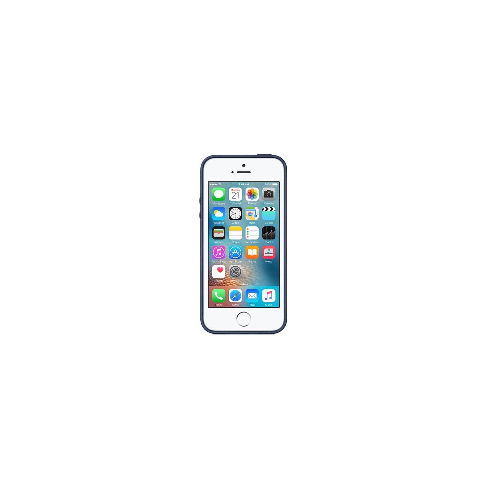 Чехол для моб. телефона Apple для iPhone 5s синий (MF044ZM/A) изображение 3