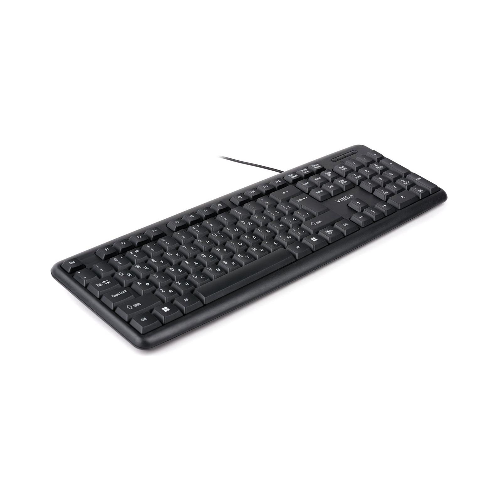 Клавіатура Vinga KB110BK зображення 2