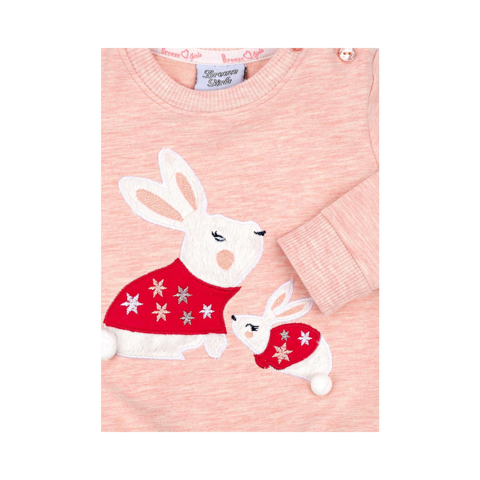 Набор детской одежды Breeze с зайчиками (10214-80G-peach) изображение 11