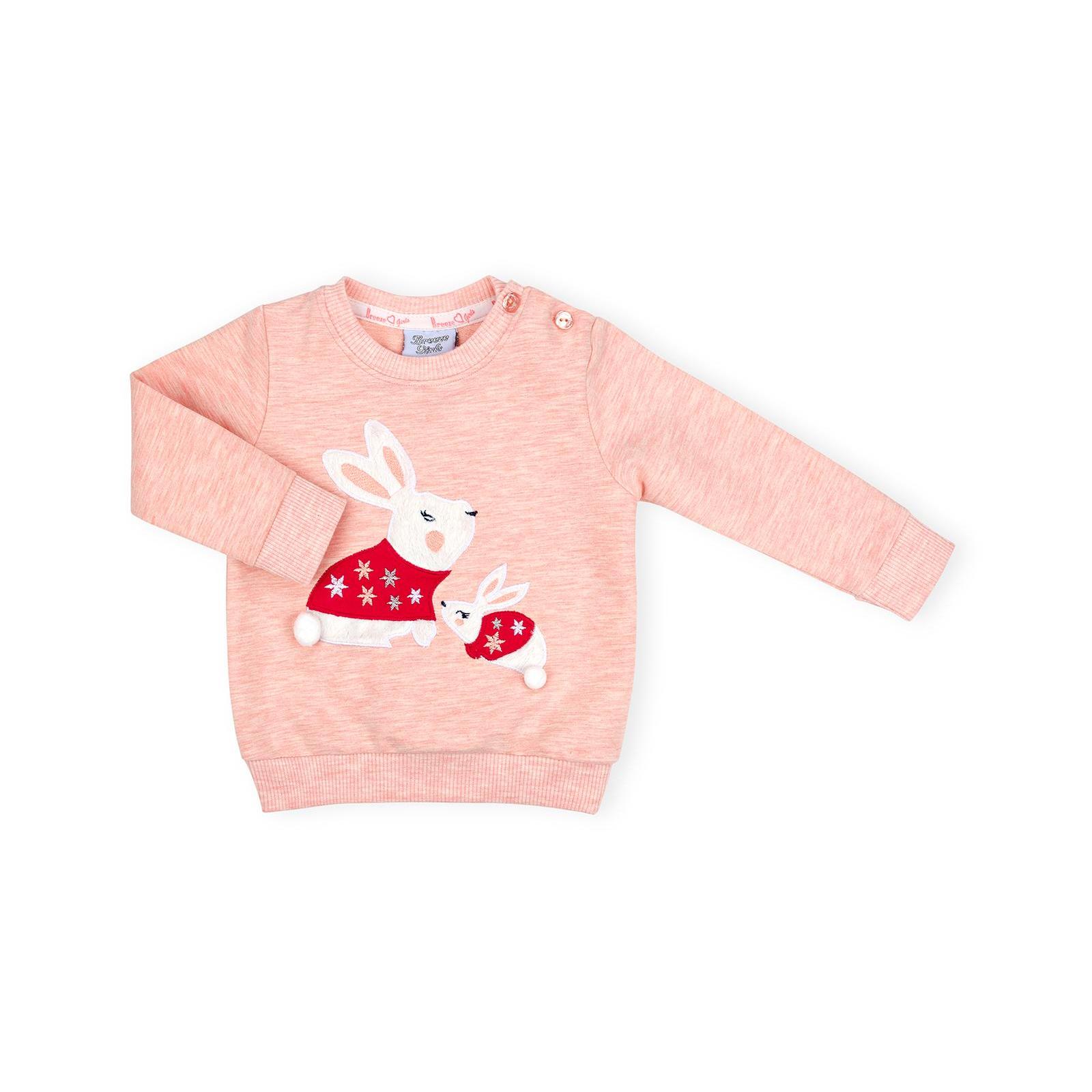 Набор детской одежды Breeze с зайчиками (10214-80G-peach) изображение 2