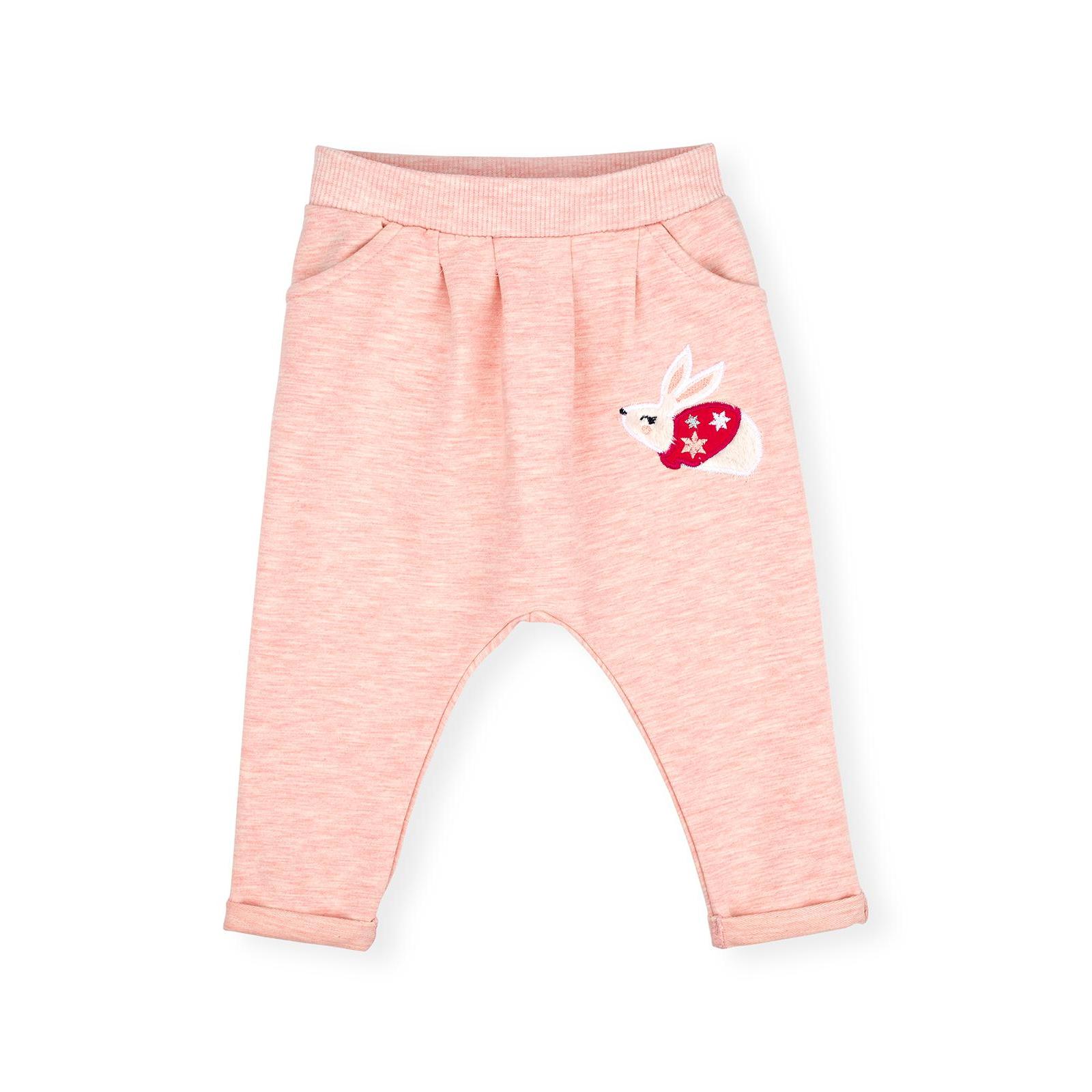 Набор детской одежды Breeze с зайчиками (10214-80G-peach) изображение 3