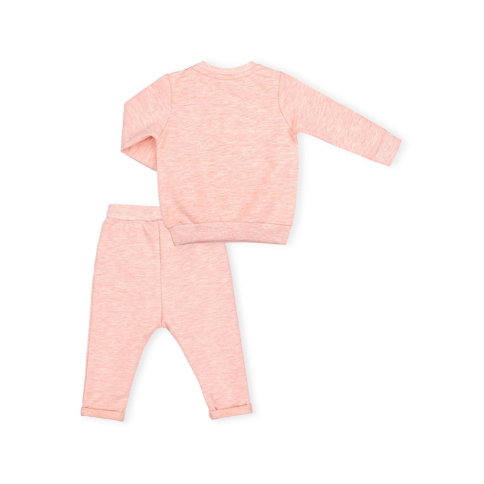 Набор детской одежды Breeze с зайчиками (10214-80G-peach) изображение 4