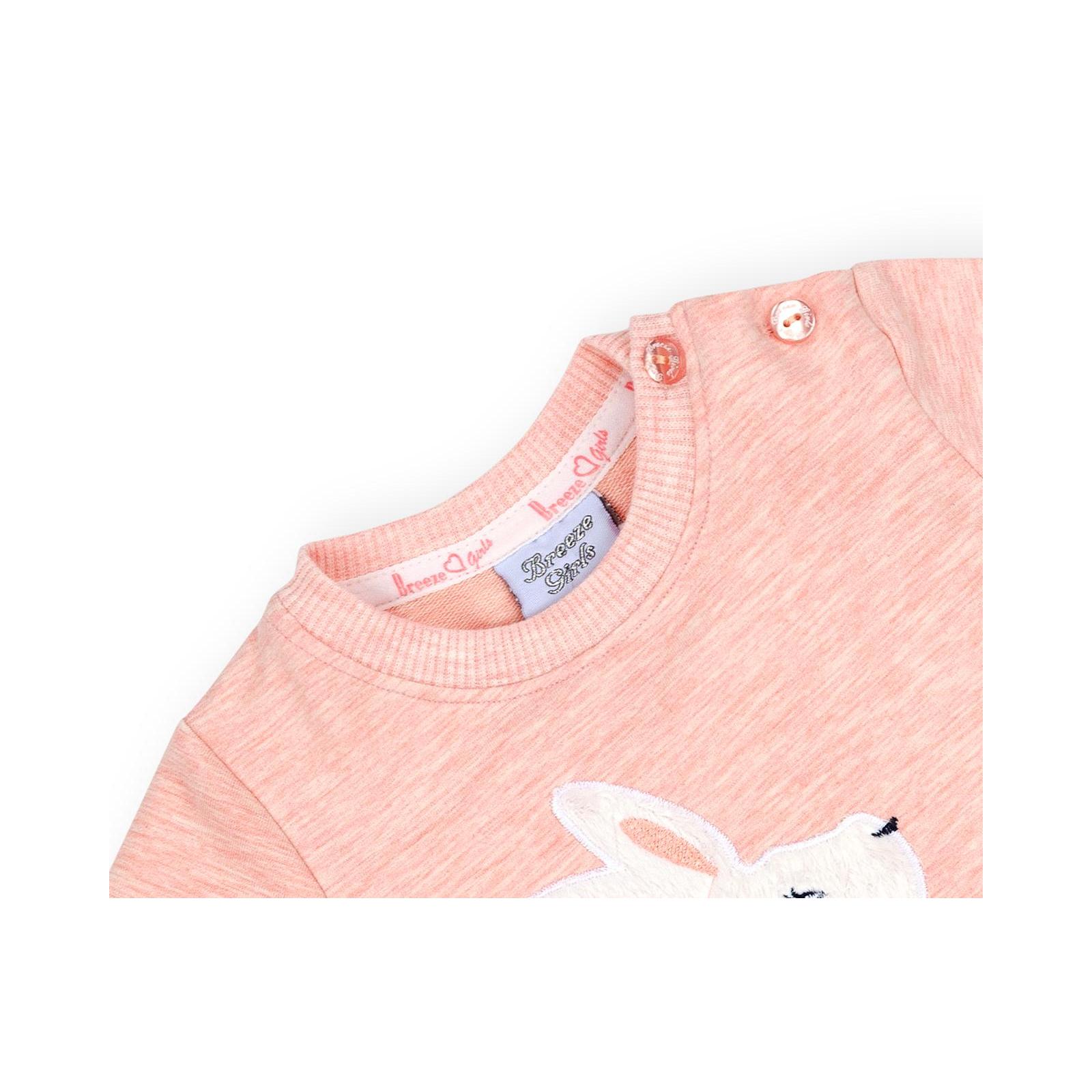 Набор детской одежды Breeze с зайчиками (10214-80G-peach) изображение 7