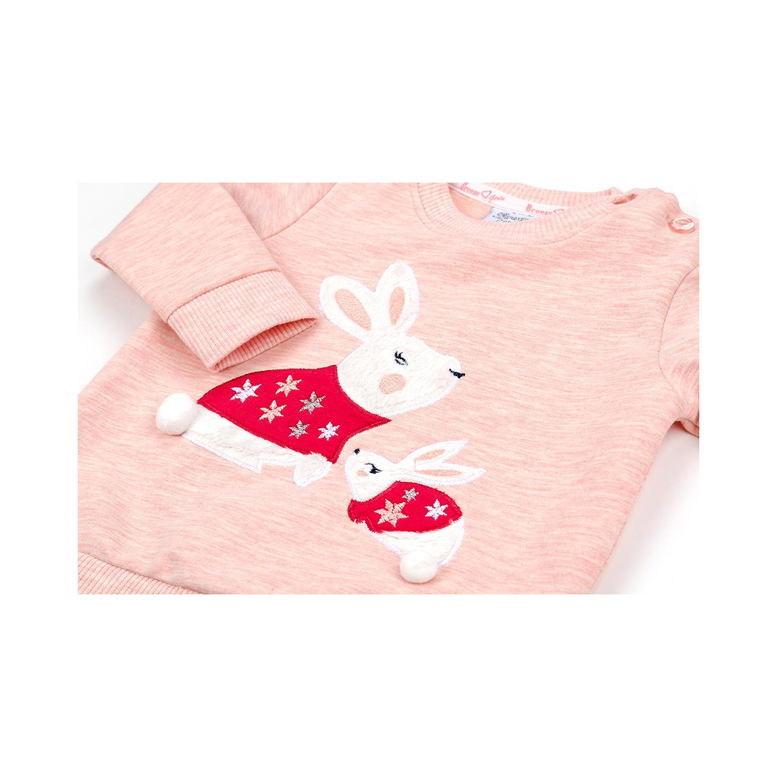 Набор детской одежды Breeze с зайчиками (10214-80G-peach) изображение 9