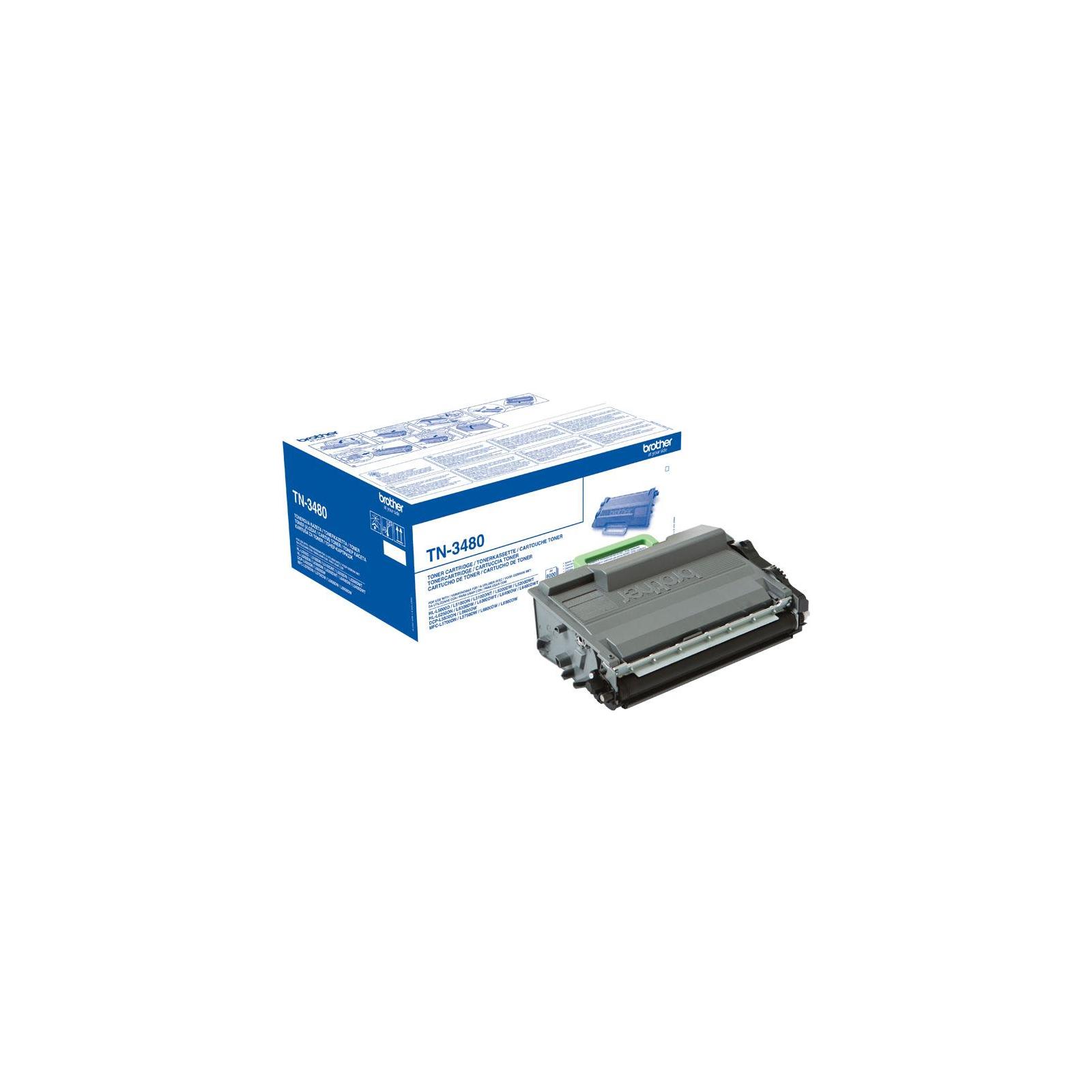 Картридж Brother HL-L5000/5100/6250, DCP-L5500, MFC-L5700, 8K (TN3480) изображение 2