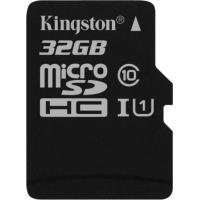 Карта памяти Kingston 32GB microSDHC class 10 UHS-I (SDCS/32GBSP)
