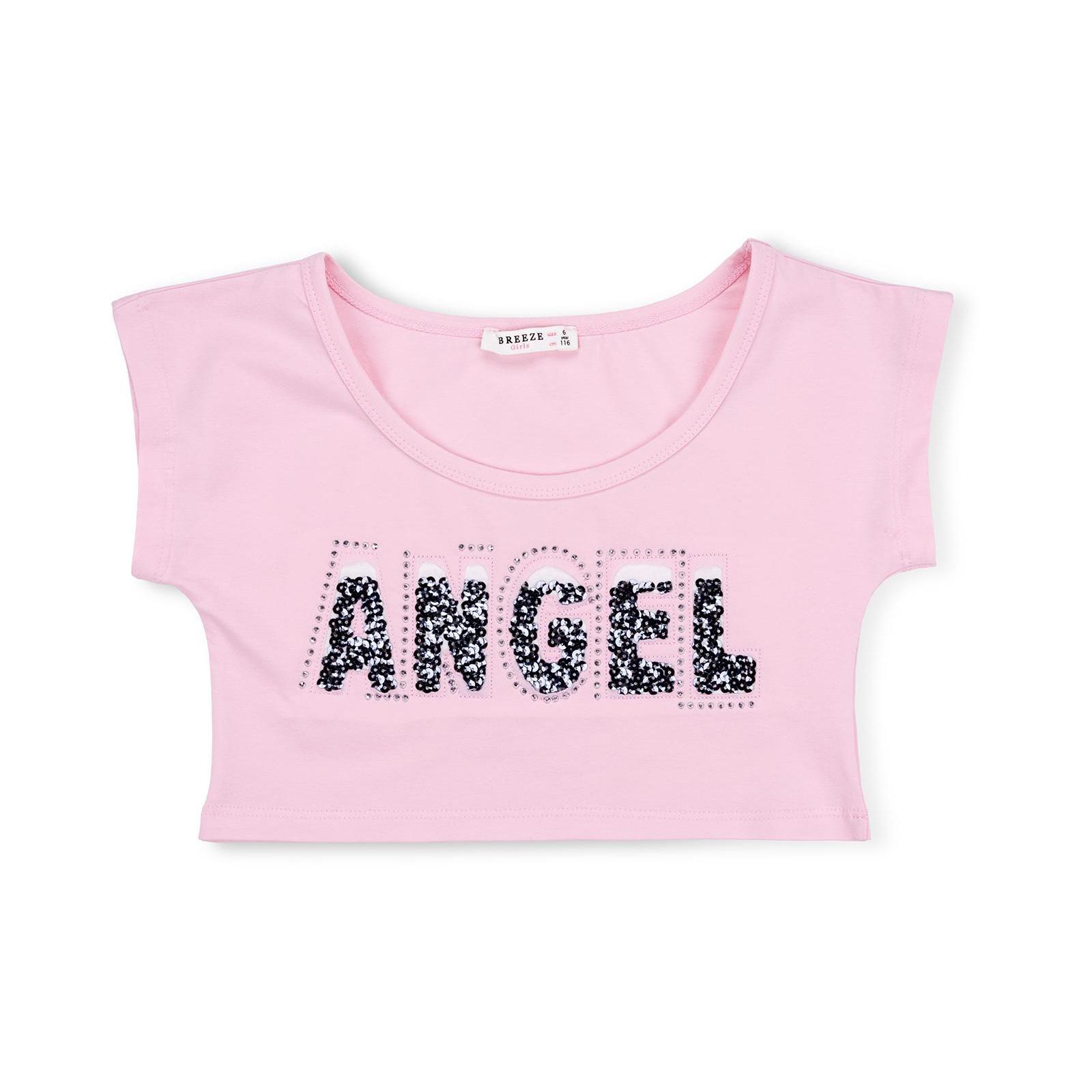 """Платье Breeze с топом """"ANGEL"""" (10254-116G-pink) изображение 3"""