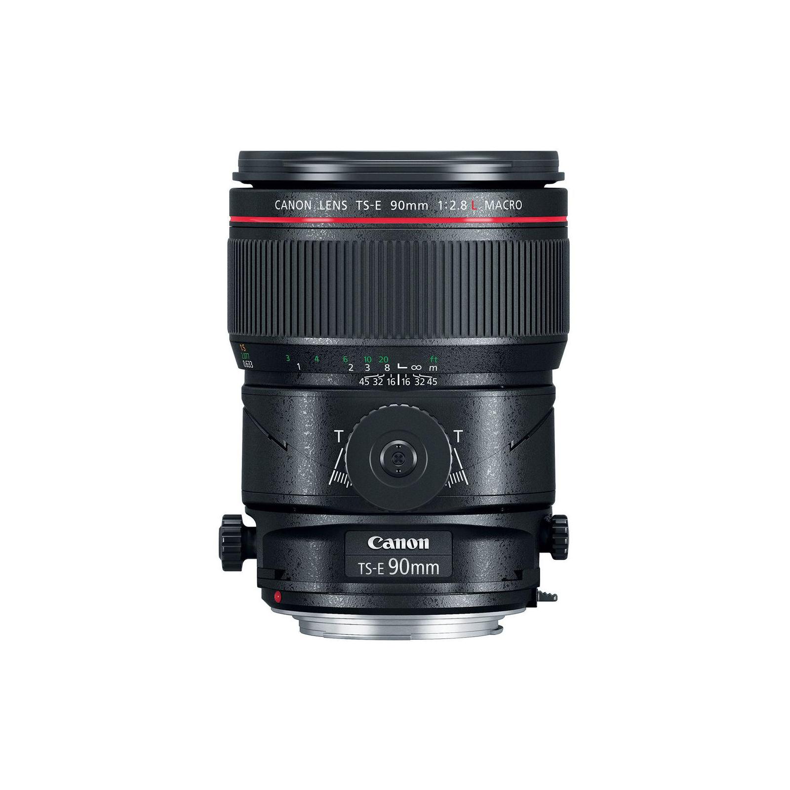 Объектив Canon TS-E 90mm f/2.8 L Macro (2274C005) изображение 2