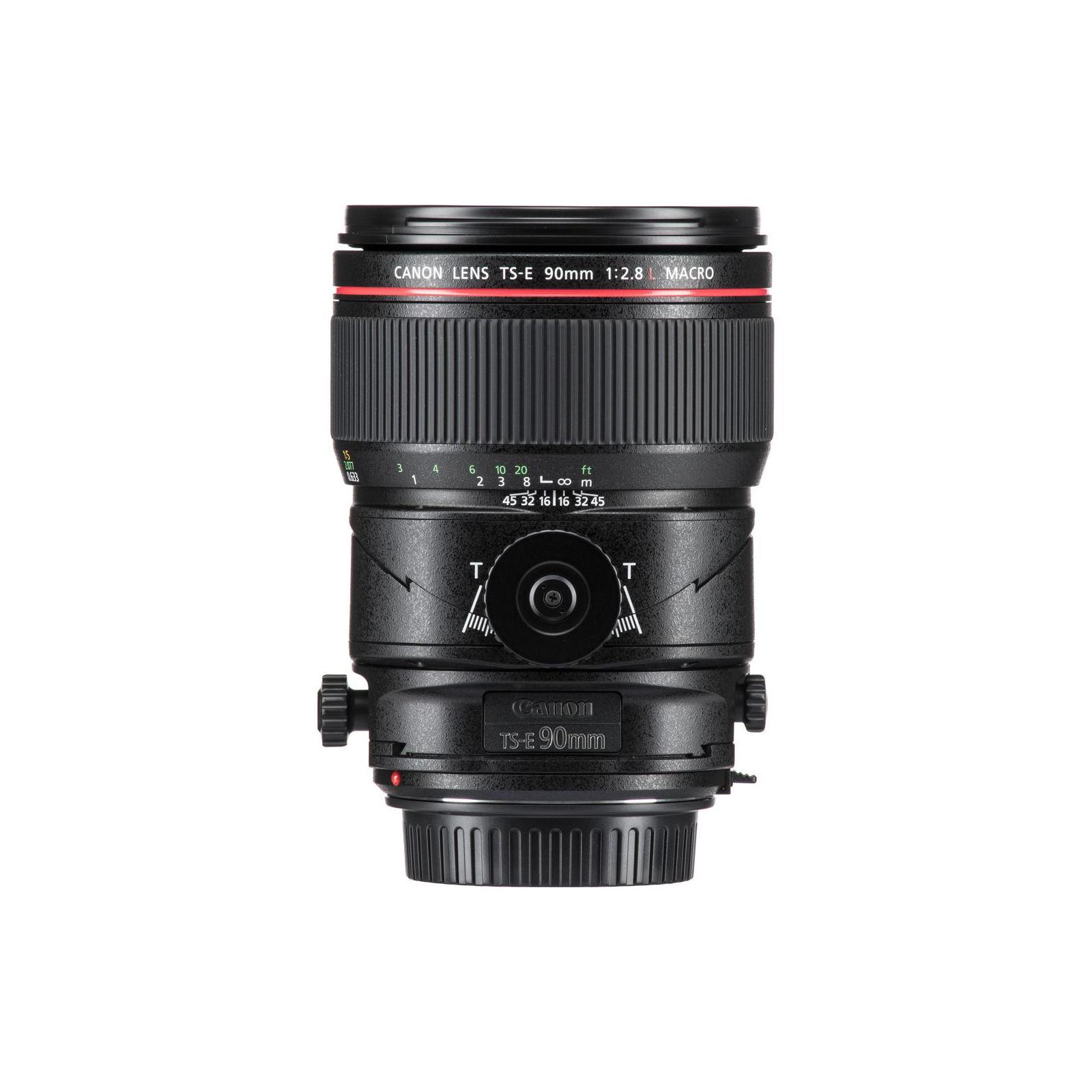 Объектив Canon TS-E 90mm f/2.8 L Macro (2274C005) изображение 3
