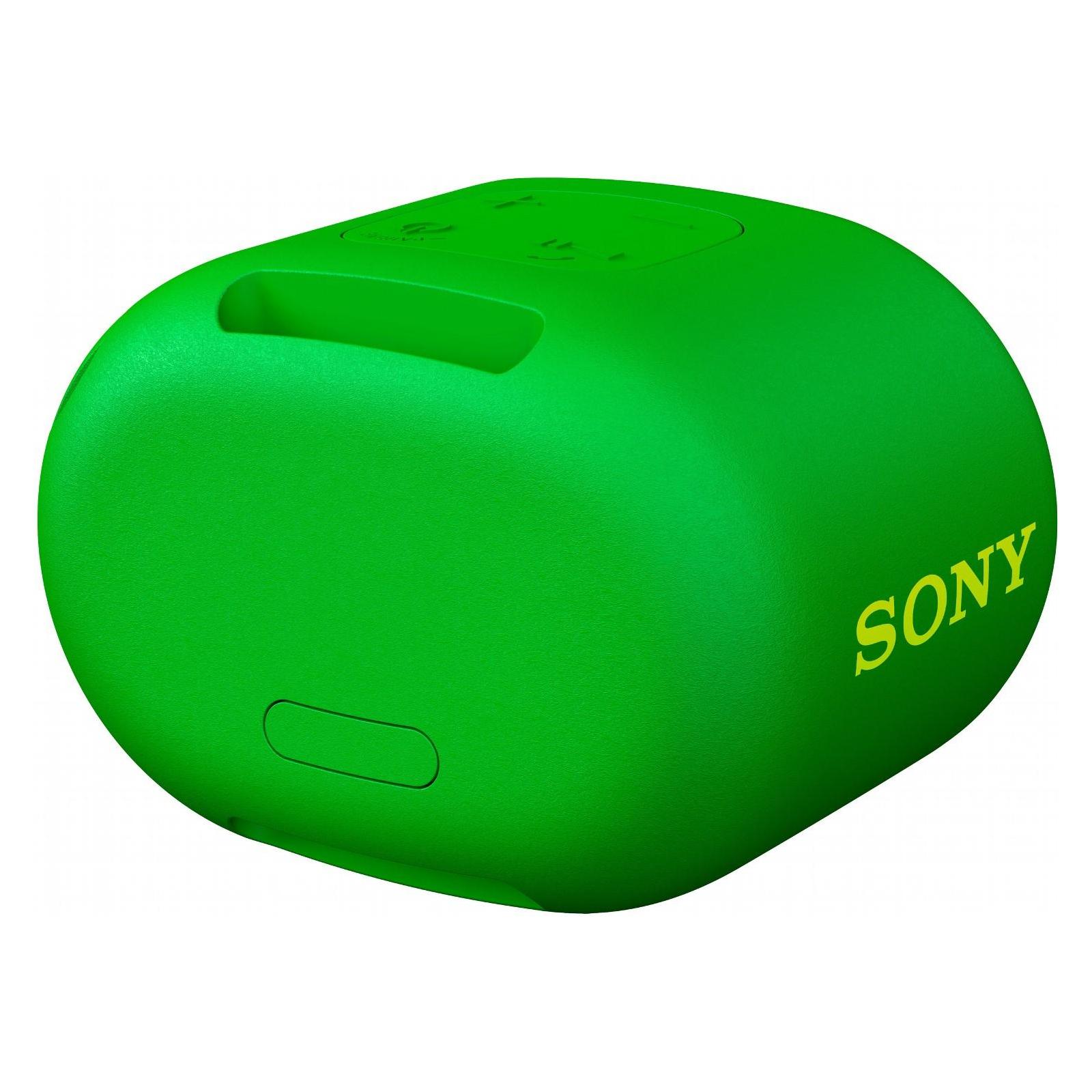 Акустическая система SONY SRS-XB01 Green (SRSXB01G.RU2) изображение 3
