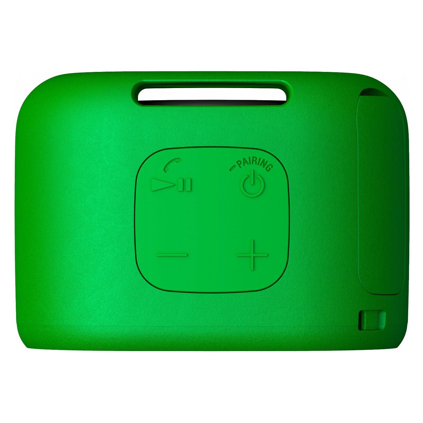 Акустическая система SONY SRS-XB01 Green (SRSXB01G.RU2) изображение 4