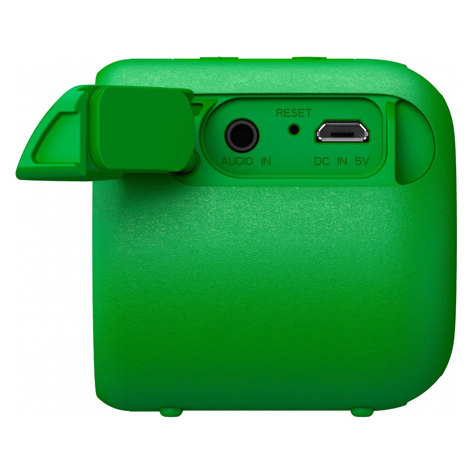 Акустическая система SONY SRS-XB01 Green (SRSXB01G.RU2) изображение 5