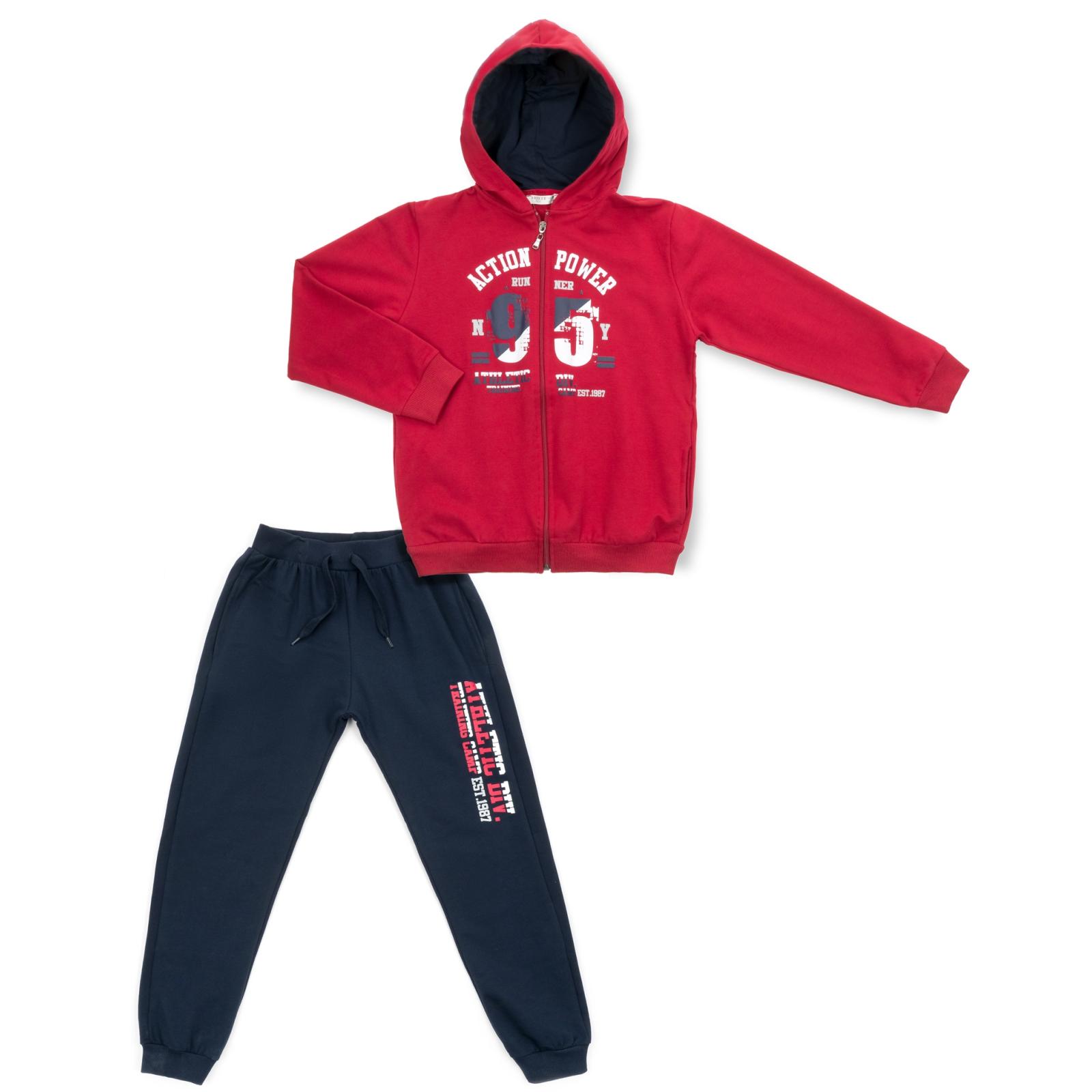 """Спортивный костюм Breeze """"95"""" (13196-140B-redblue)"""