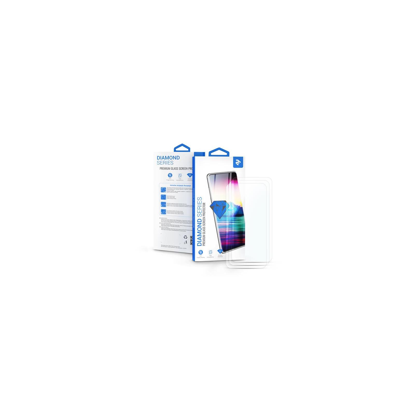 Стекло защитное 2E для Xiaomi Redmi Note 8 , 2.5D, Clear (3in1) (2E-MI-N8-LT2.5D-CL-3IN1)