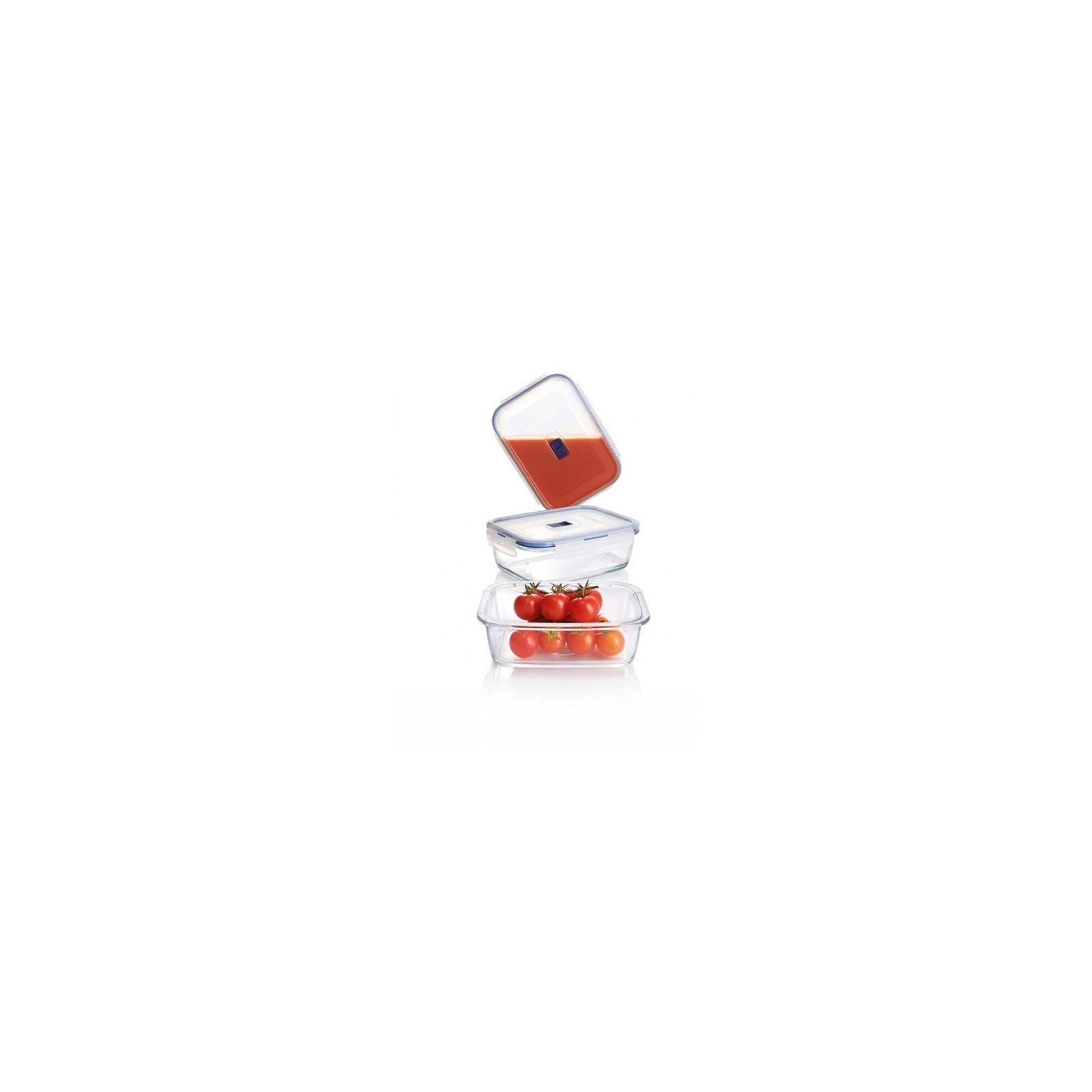 Пищевой контейнер Luminarc Pure Box Active набор 3шт прямоуг. 380мл/820мл/1220мл (P5275)