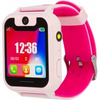 Смарт-часы Discovery iQ4500 Camera LED Light (pink) Детские смарт часы-телефон с (iQ4500 pink)