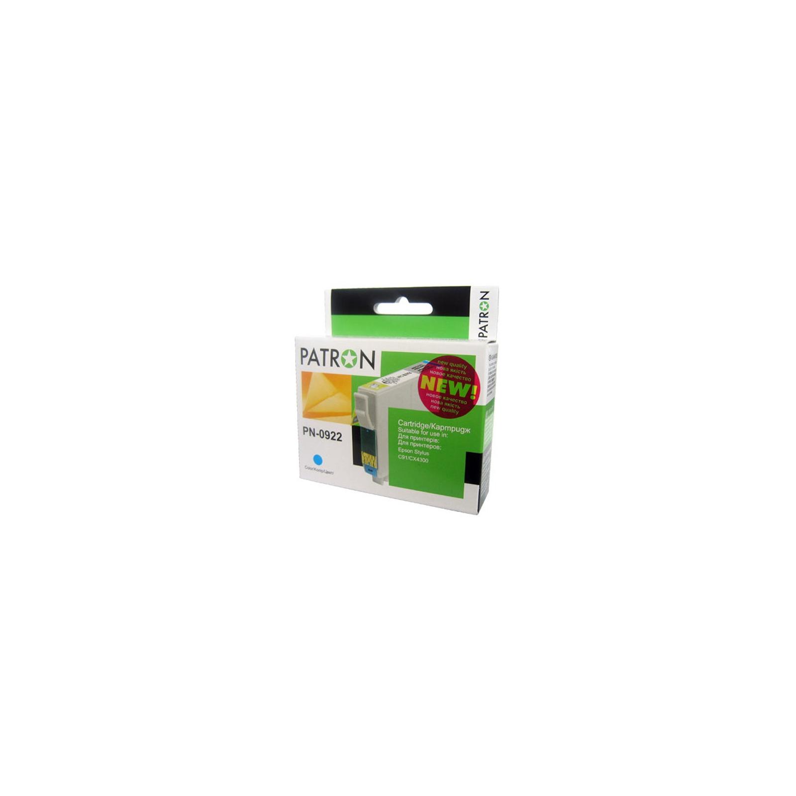 Картридж PATRON для EPSON C91/T26/27/TX106 cyan (CI-EPS-T09224A-C2-PN)