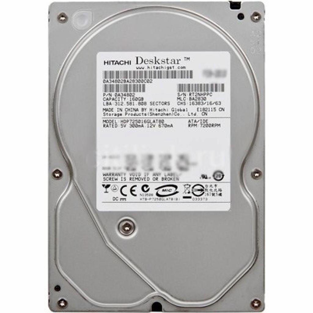"""Жесткий диск 3.5"""" 1TB Hitachi HGST (0A39289 / HUA722010CLA330)"""