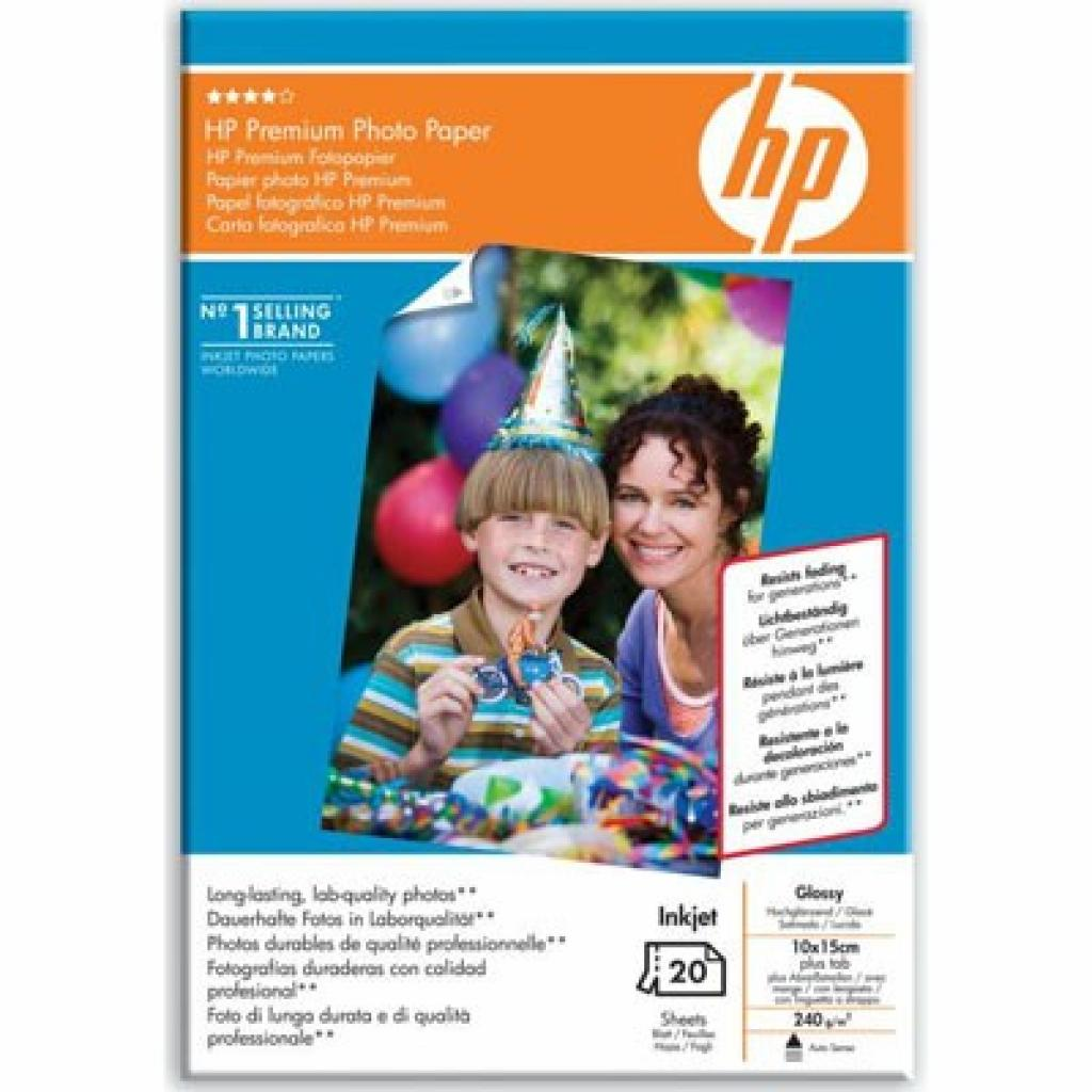 Бумага HP 10x15 Premium Photo Paper glossy (Q1991A)