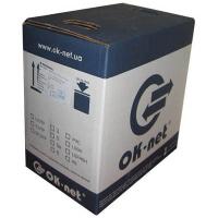 Кабель мережевий OC-SFTP5E-BOX OK-Net (КПВЭО-ВП (200) 4х2х0,51)