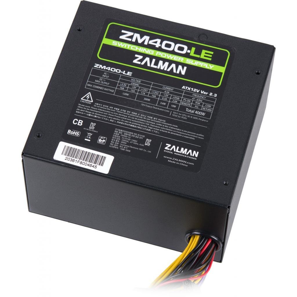 Блок питания Zalman 400W (ZM400-LE) изображение 6