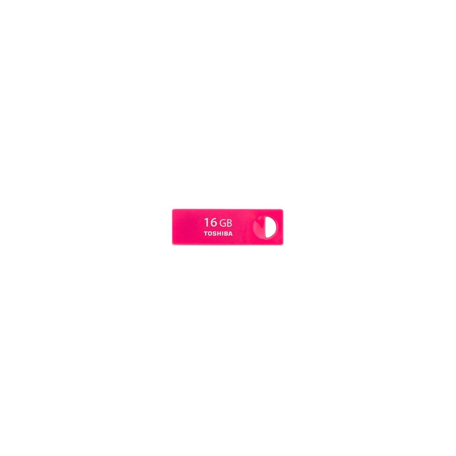 USB флеш накопитель TOSHIBA 16Gb Rosered (THNU16ENSRED(BL5)