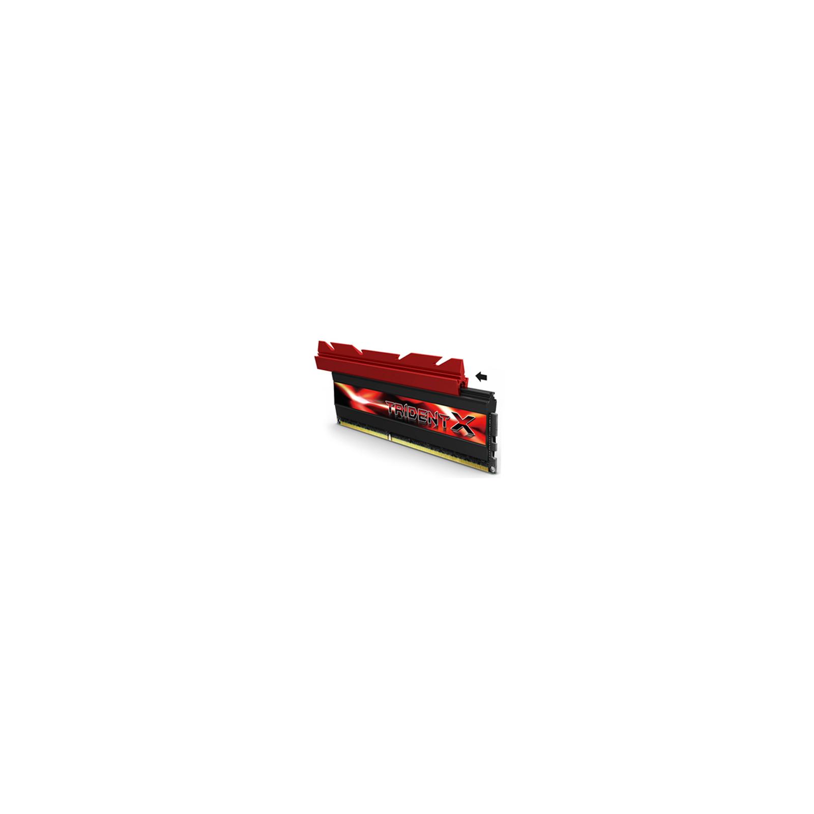 Модуль памяти для компьютера DDR3 16GB (2x8GB) 2666 MHz G.Skill (F3-2666C12D-16GTXD) изображение 2