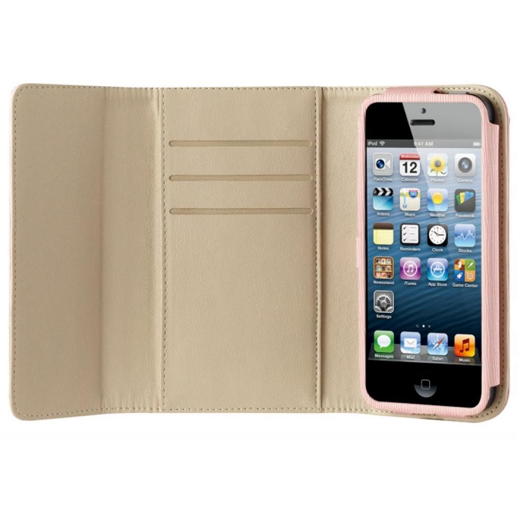 Чехол для моб. телефона OZAKI iPhone 5/5S O!coat Zippy Leather wallet Pink (OC570PK) изображение 3