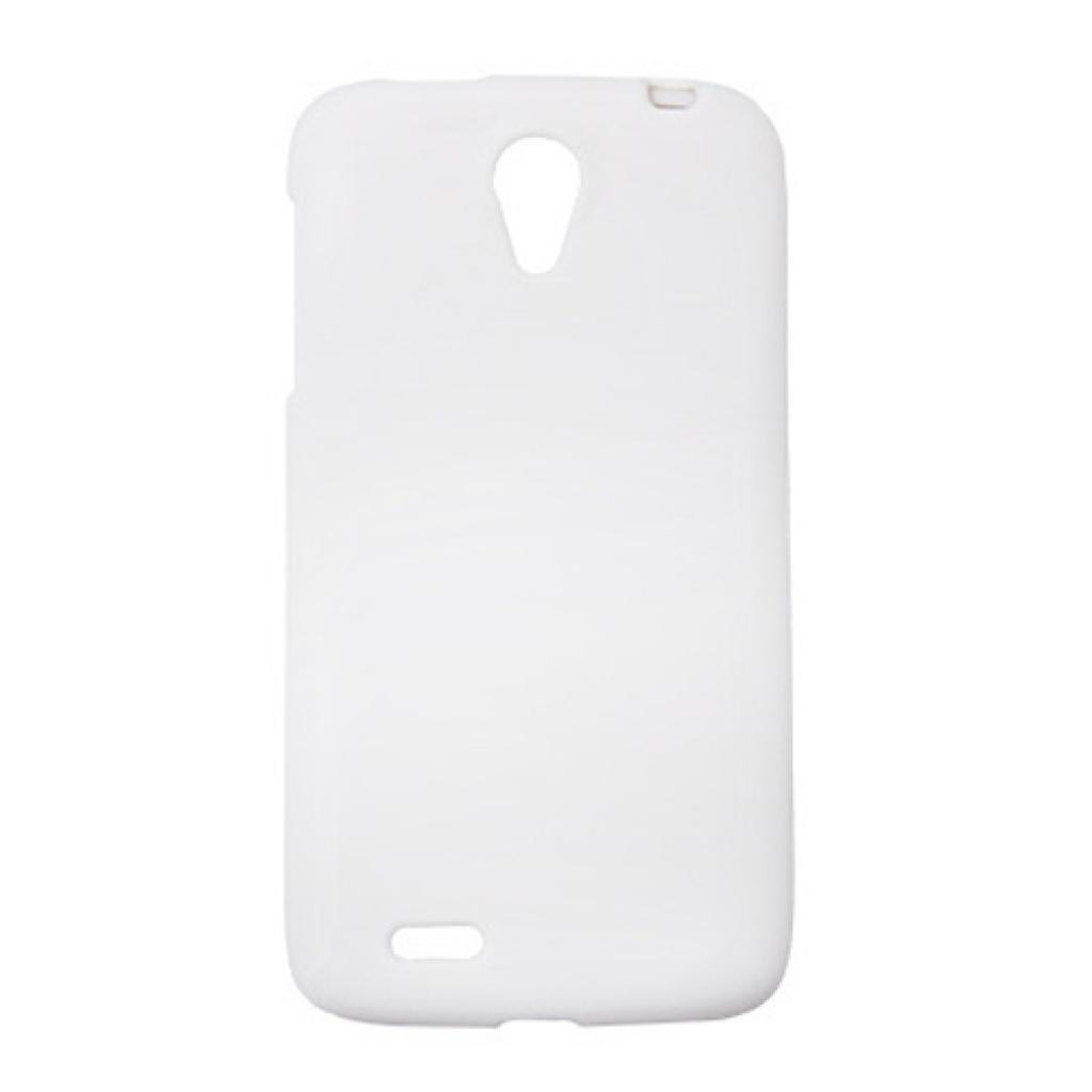Чехол для моб. телефона Drobak для Lenovo S820 /Elastic PU/White (211439)