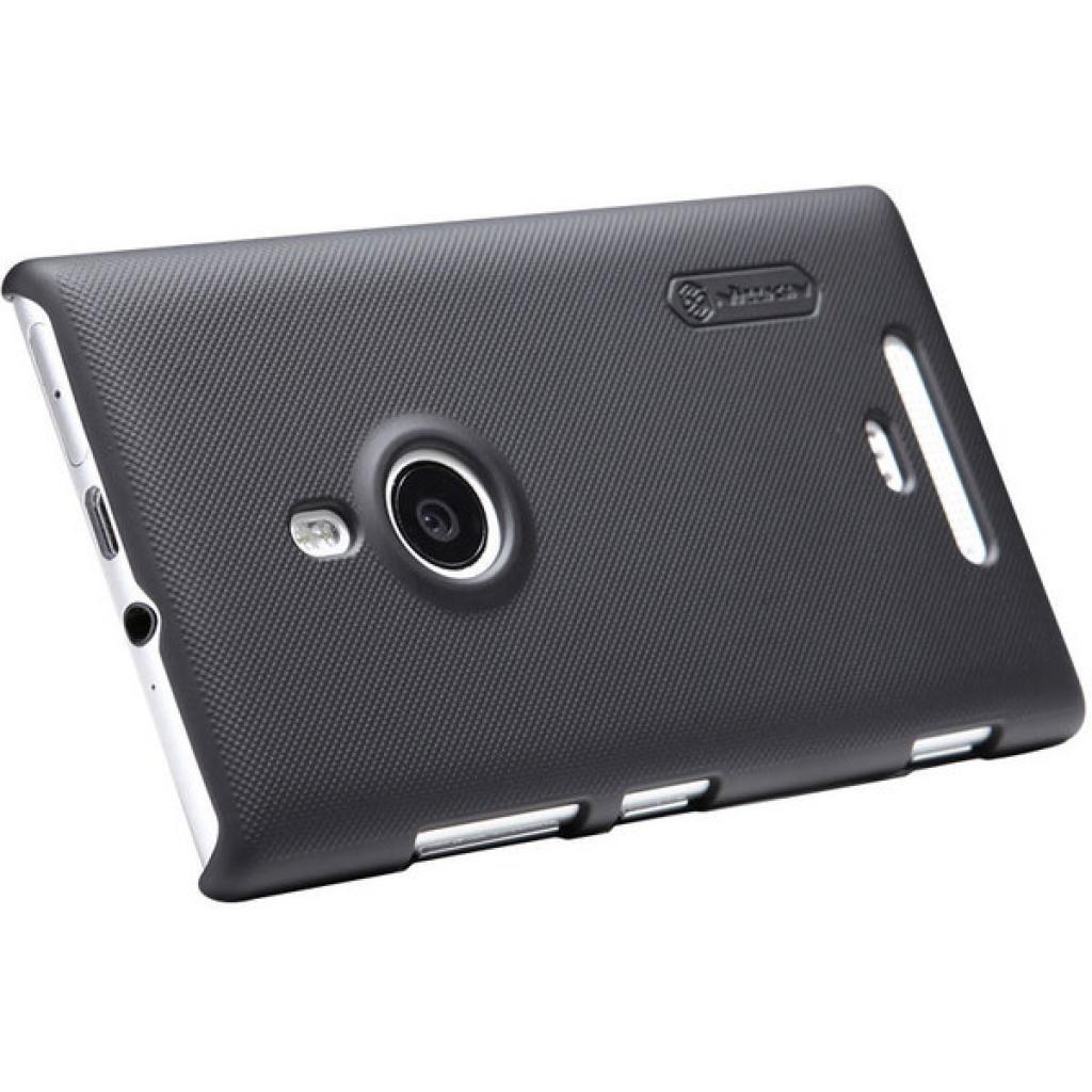 Чехол для моб. телефона NILLKIN для Nokia 925 /Super Frosted Shield/Black (6088758) изображение 3