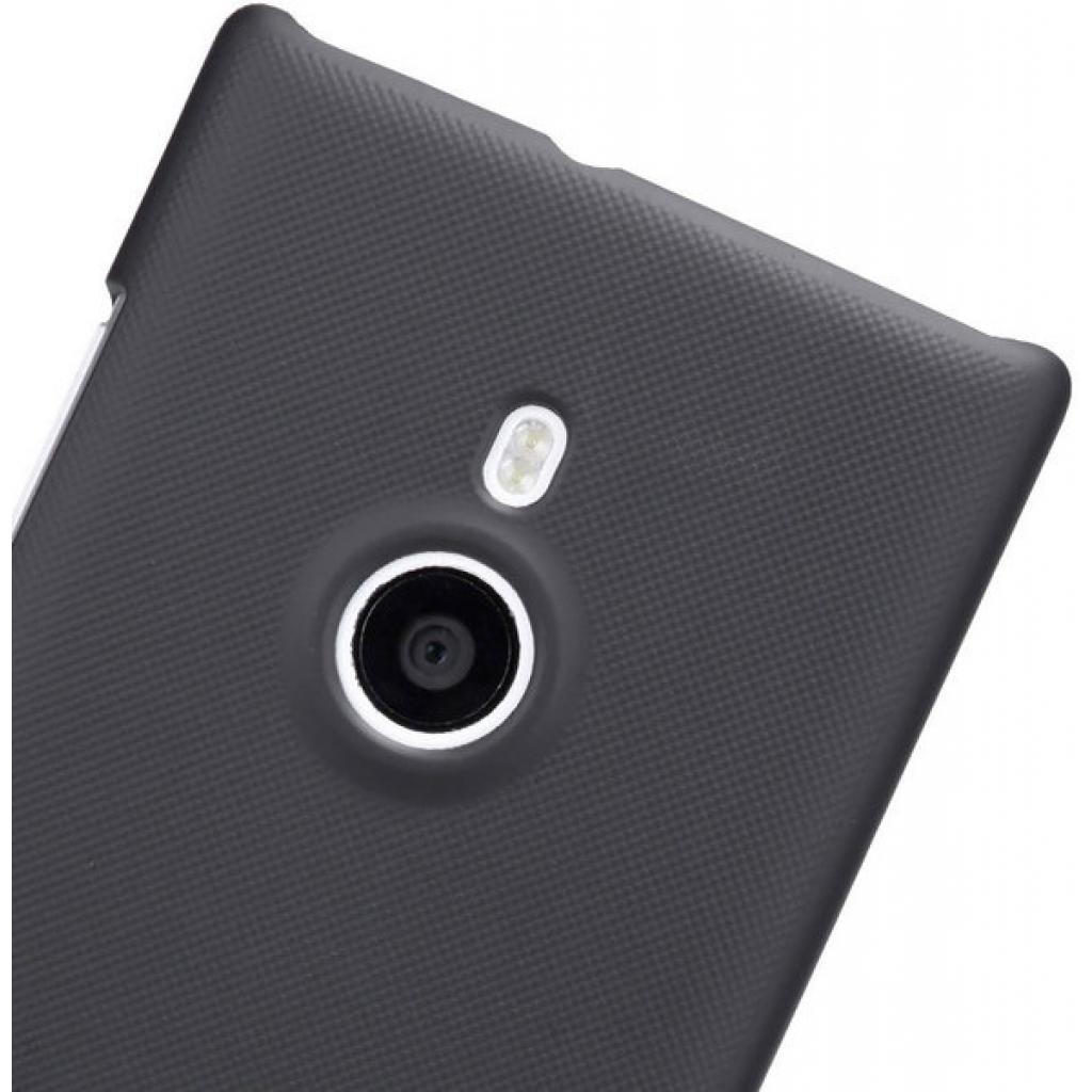 Чехол для моб. телефона NILLKIN для Nokia 925 /Super Frosted Shield/Black (6088758) изображение 4