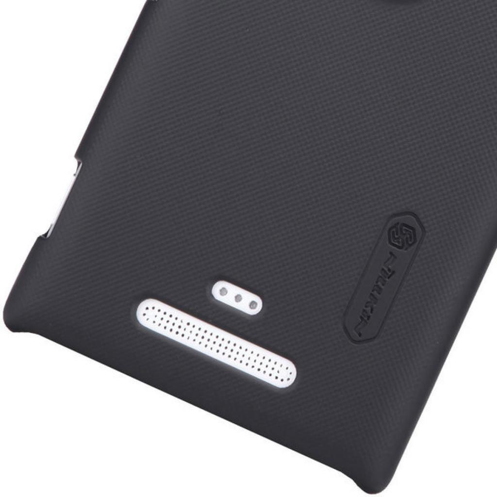 Чехол для моб. телефона NILLKIN для Nokia 925 /Super Frosted Shield/Black (6088758) изображение 5