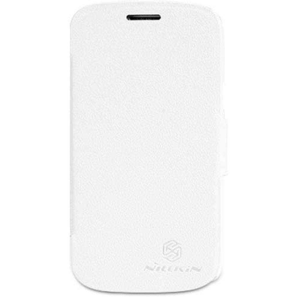 Чехол для моб. телефона NILLKIN для Samsung S7390 /Fresh/ Leather/White (6129108)