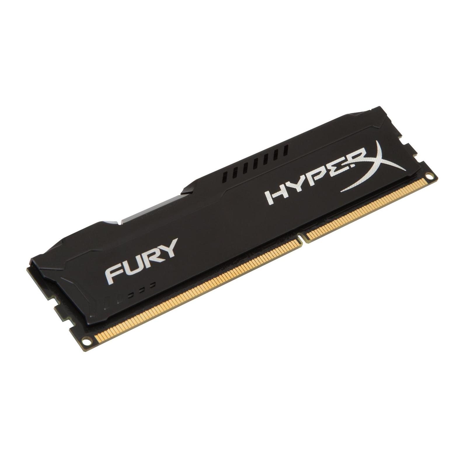 Модуль памяти для компьютера DDR3 8Gb 1600 MHz HyperX Fury Black Kingston (HX316C10FB/8) изображение 2