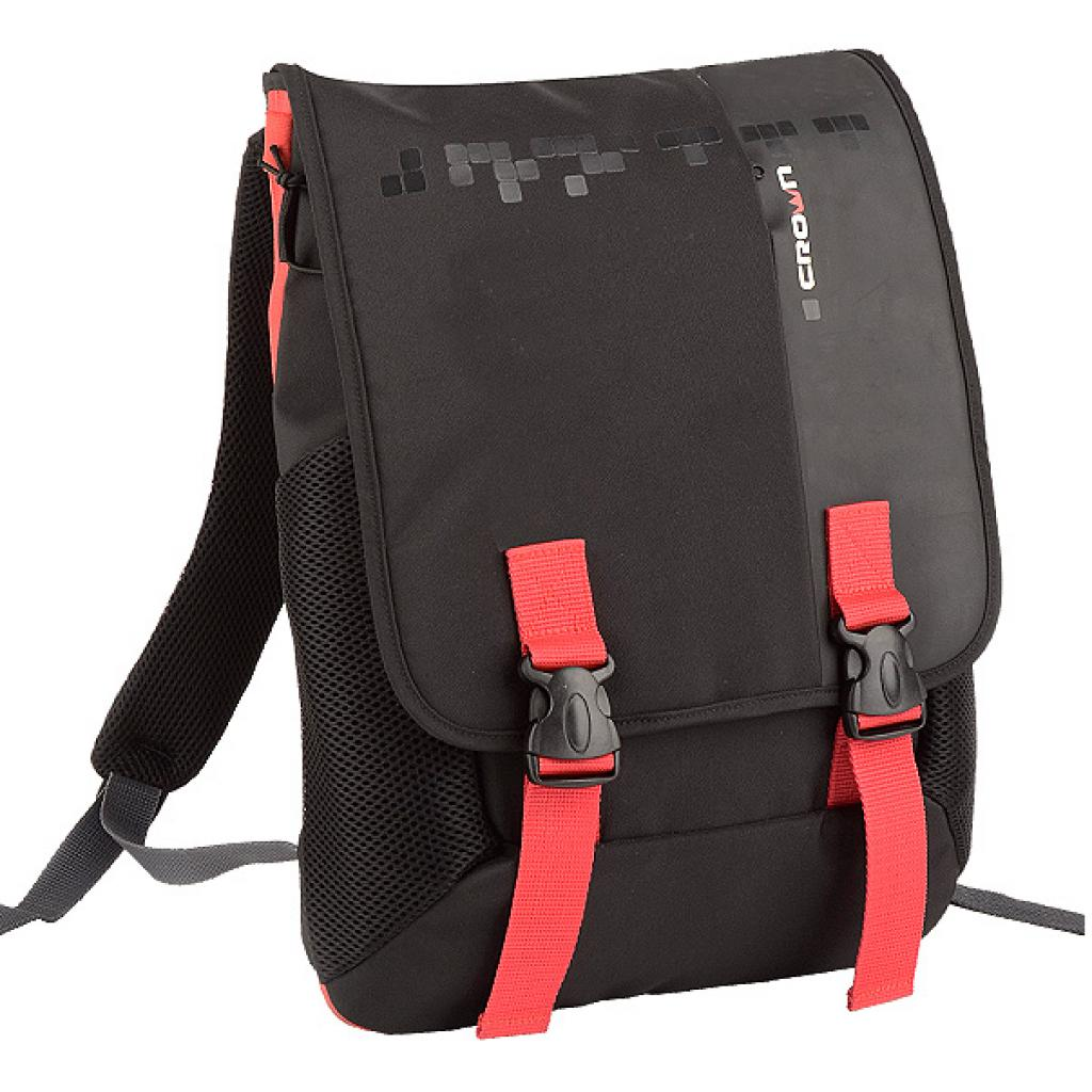 Рюкзак для ноутбука Crown 15.6 Harmony black and red (BPH3315BR) изображение 2