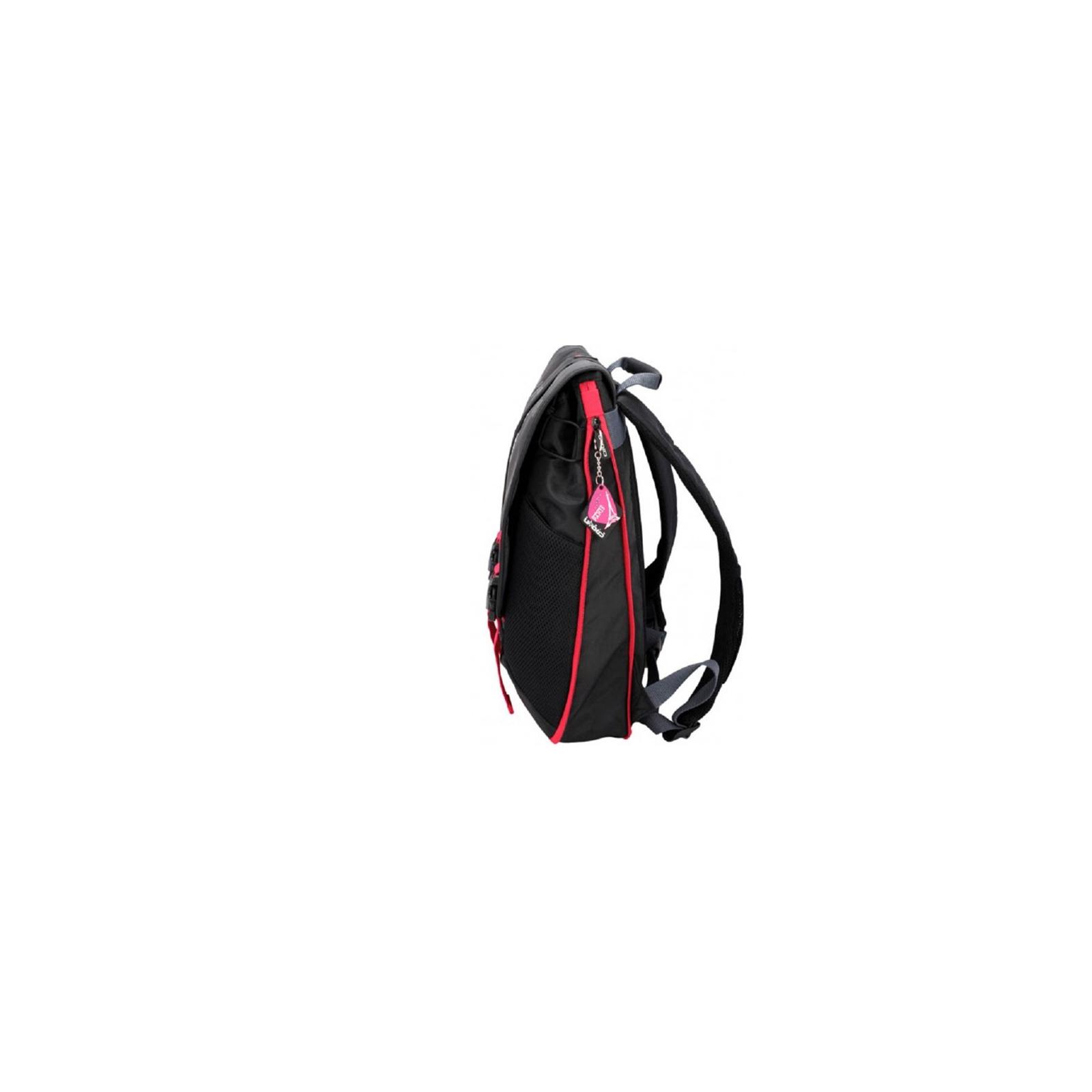 Рюкзак для ноутбука Crown 15.6 Harmony black and red (BPH3315BR) изображение 3