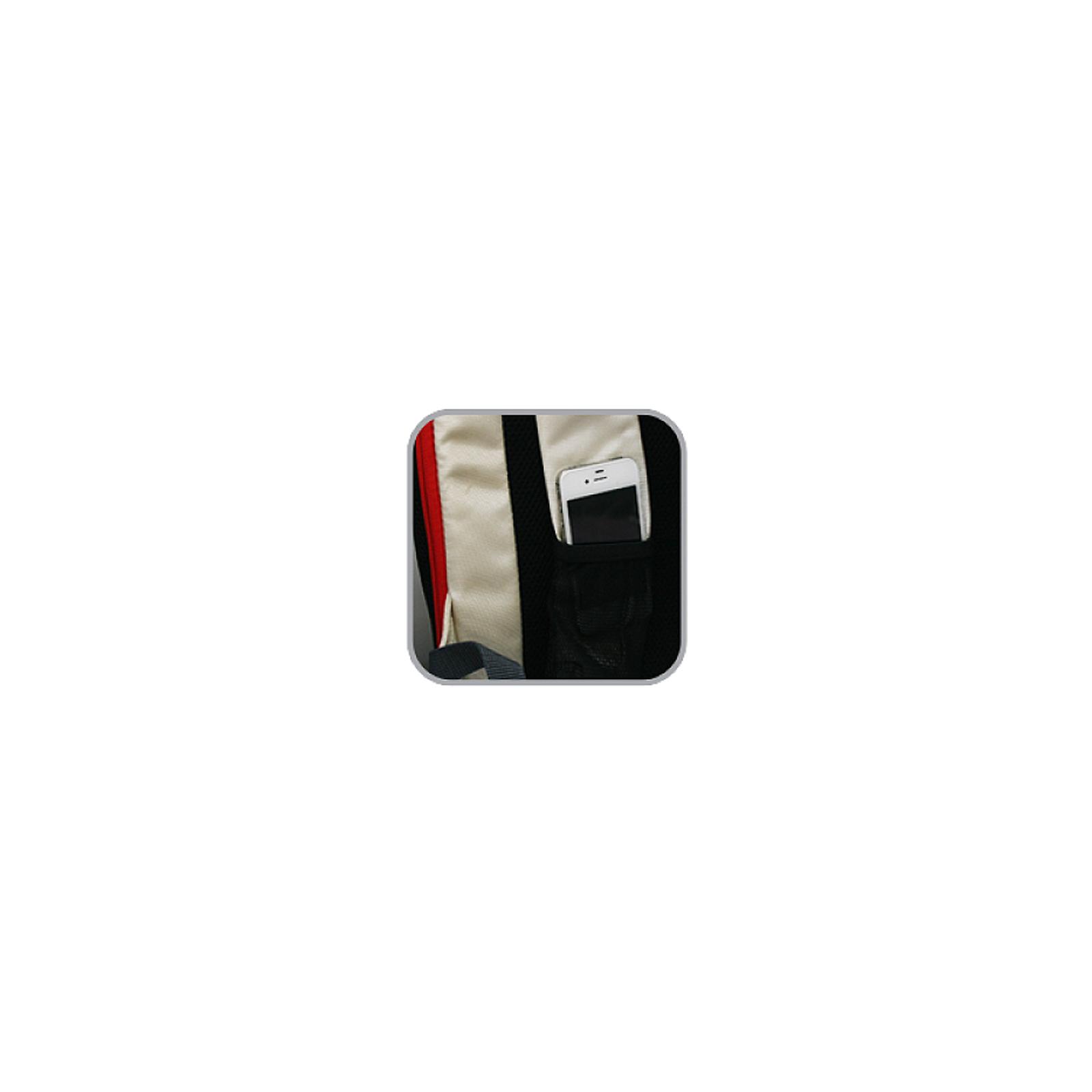 Рюкзак для ноутбука Crown 15.6 Harmony black and red (BPH3315BR) изображение 6