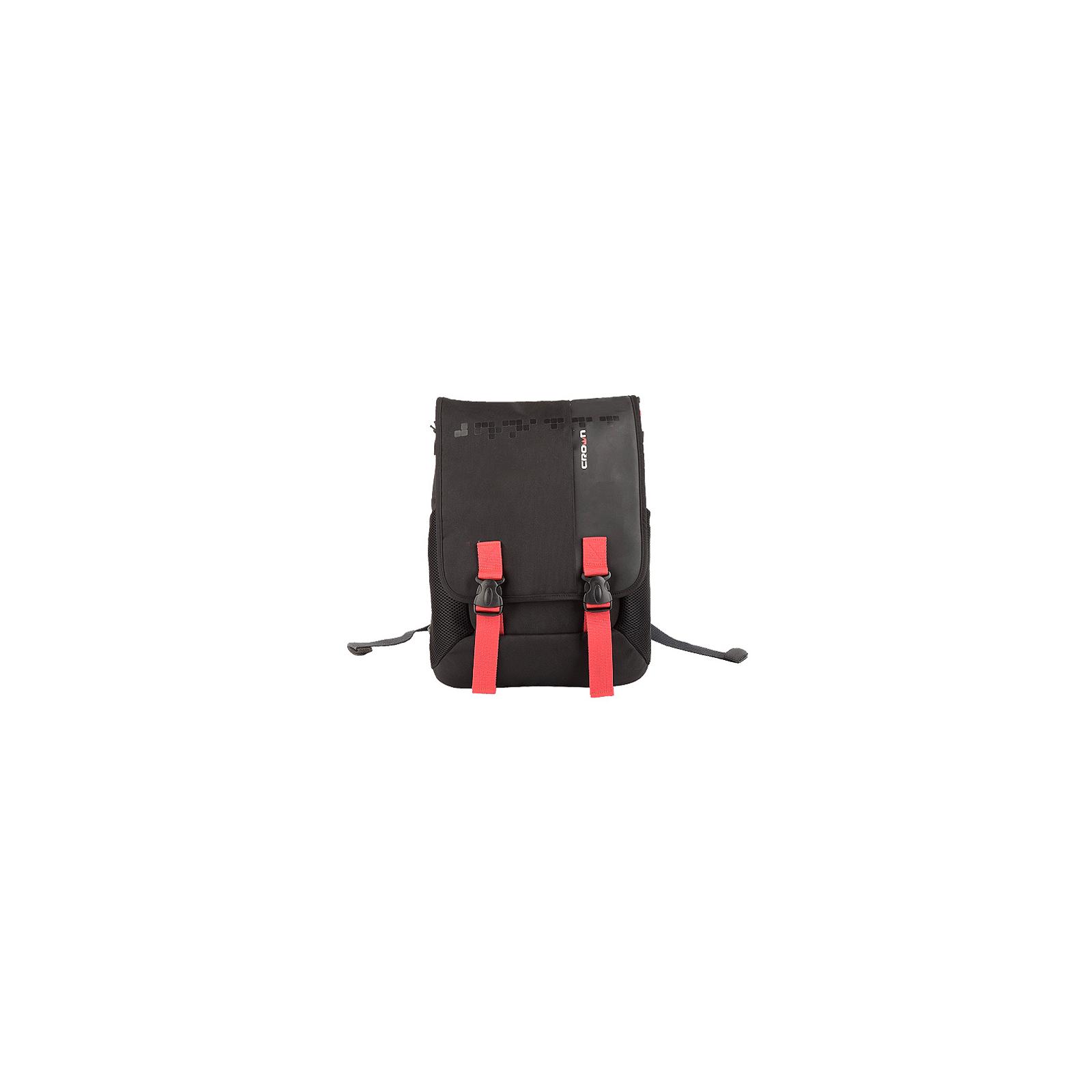 Рюкзак для ноутбука Crown 15.6 Harmony black and red (BPH3315BR)