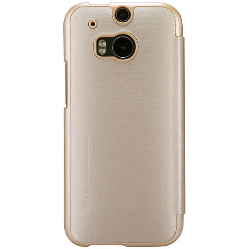 Чехол для моб. телефона для HTC ONE (M8) /Rain Leather Case/Gold NILLKIN (6138243) изображение 2