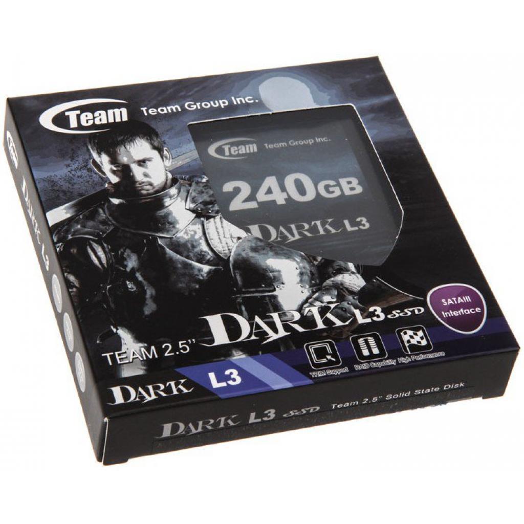 "Накопитель SSD 2.5"" 240GB Team (T253L3240GMC101) изображение 4"