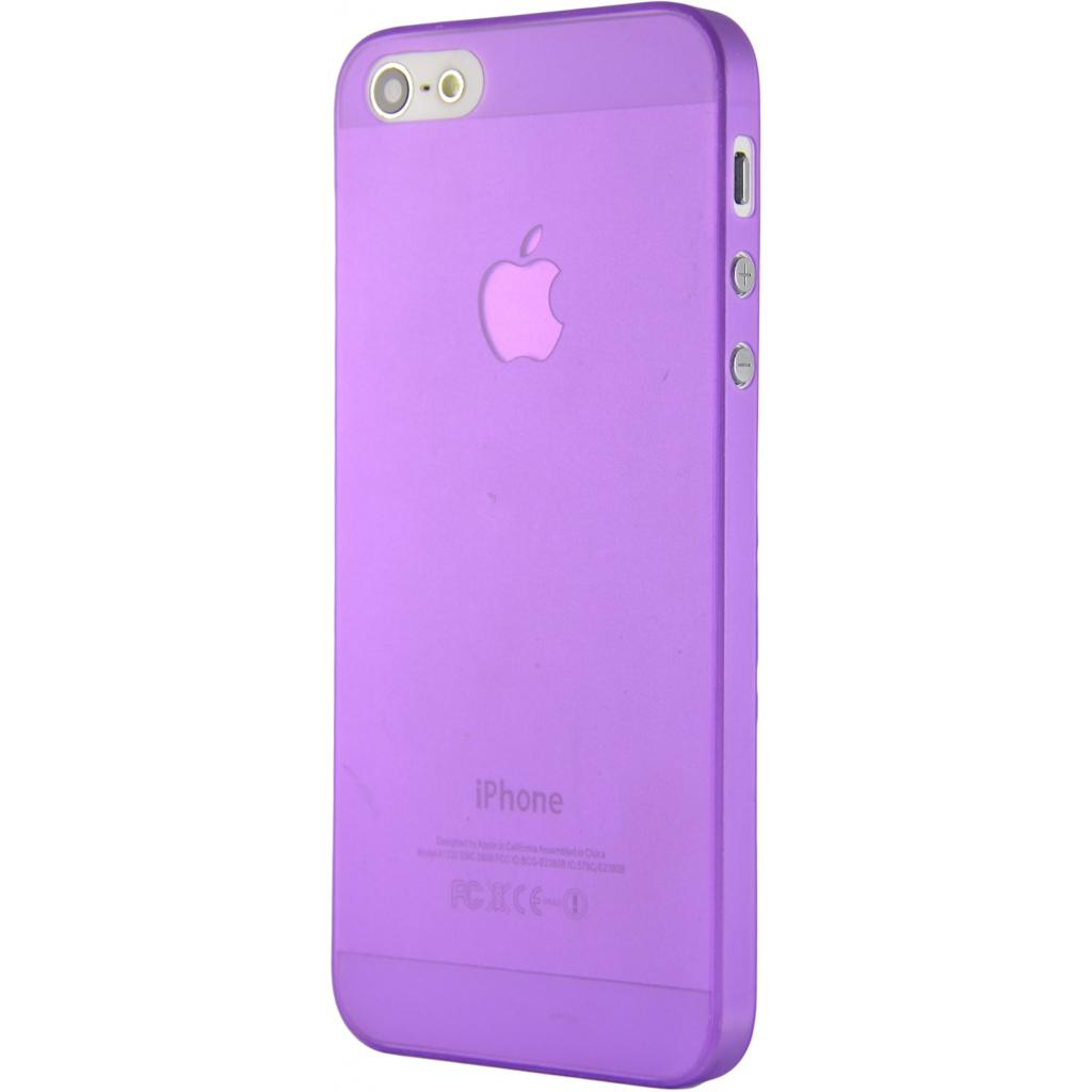 Чехол для моб. телефона Pro-case iPhone 5 ultra thin purple (PCUT5SPP)